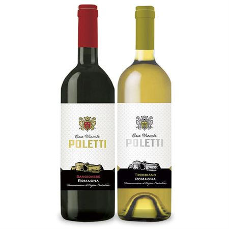 【ギフトに】ロマーニャ 赤白ワインセット【内祝い・出産内祝いにも】