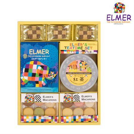 【ギフトに】エルマー クッキー&マカロン&紅茶詰合せA【内祝い・出産内祝いにも】