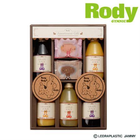 【ギフトに】ロディ ジュース&クッキーセットB2【内祝い・出産内祝いにも】