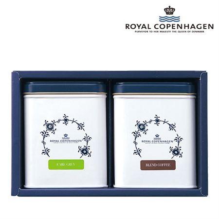 【ギフトに】ロイヤルコペンハーゲン 紅茶・コーヒーセットA【内祝い・出産内祝いにも】