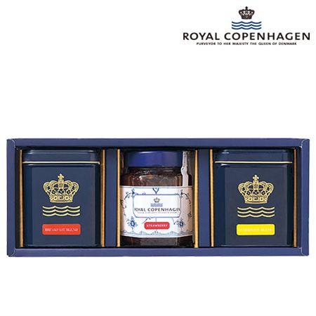 【ギフトに】ロイヤルコペンハーゲン 紅茶・ジャムセット【内祝い・出産内祝いにも】