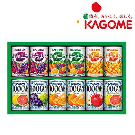 【ギフトに】カゴメ フルーツ+野菜飲料ギフト(12本)【内祝い・出産内祝いにも】