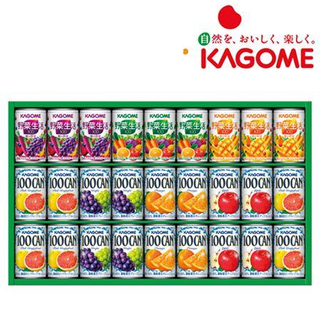 【ギフトに】カゴメ フルーツ+野菜飲料ギフト(27本)【内祝い・出産内祝いにも】