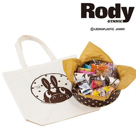 【ギフトに】ロディ 名入れ トート・米菓・焼菓子詰合せA【内祝い・出産内祝いにも】