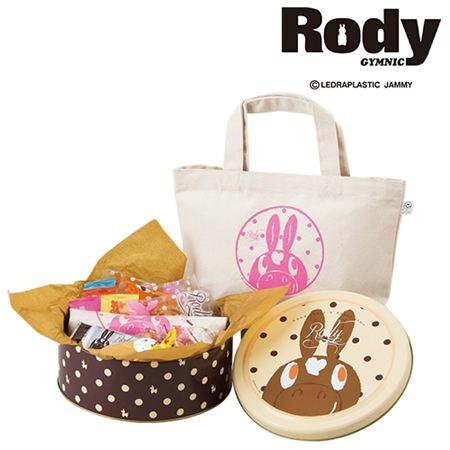 【ギフトに】ロディ 名入れ トート・米菓・焼菓子詰合せB【内祝い・出産内祝いにも】