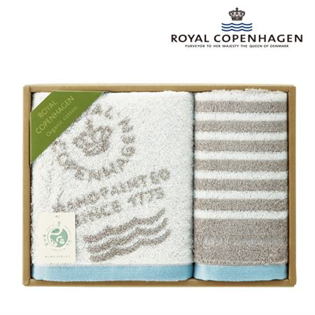 【ギフトに】ロイヤル コペンハーゲン フェイス・ウォッシュタオルセット【内祝い・出産内祝いにも】