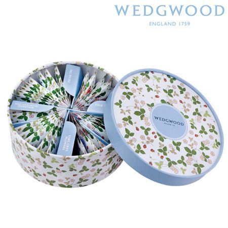 【ギフトに】ウェッジウッド ワイルド ストロベリー ティーバッグセット【内祝い・出産内祝いにも】