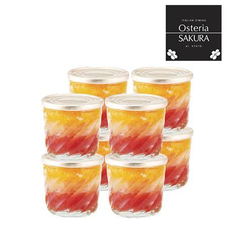 【ギフトに】オステリア サクラ グレープフルーツ&オレンジゼリーD【内祝い・出産内祝いにも】
