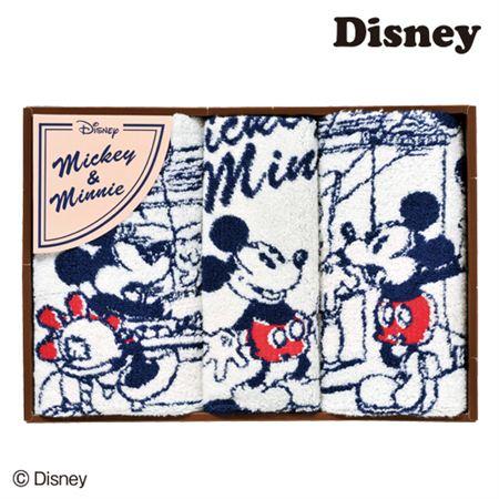 【ギフトに】ディズニー コミックミッキー&ミニータオルセットD【内祝い・出産内祝いにも】