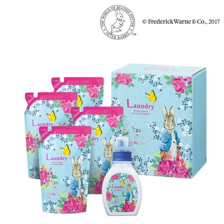 【ギフトに】ピーターラビット ヤシノミランドリー洗剤セットC【内祝い・出産内祝いにも】
