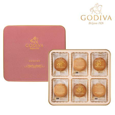 【ギフトに】ゴディバ プラリネクッキーアソートメント 18枚入【内祝い・出産内祝いにも】