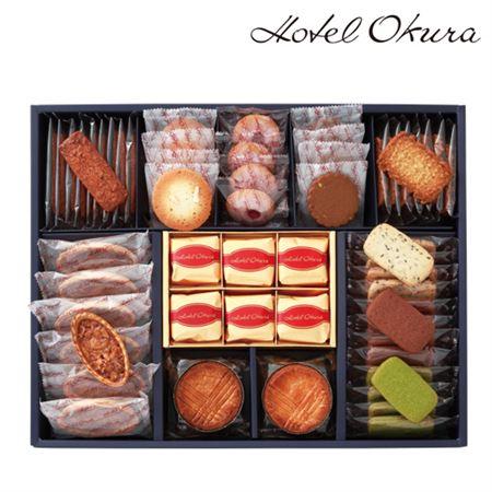【ギフトに】ホテルオークラ マロングラッセ&クッキー詰合せB【内祝い・出産内祝いにも】
