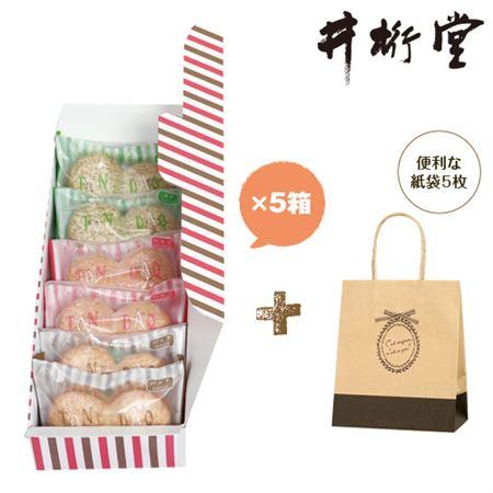 井桁堂 トーンダック5箱セット(紙袋5枚付き)
