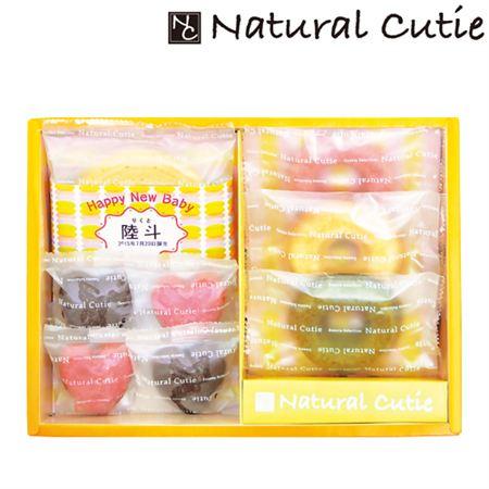 名入れ Natural Cutie バウムクーヘン&スイーツギフトA
