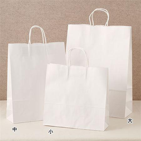手さげ紙袋ホワイト